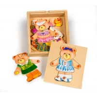 Dress Up Mrs Bear Set