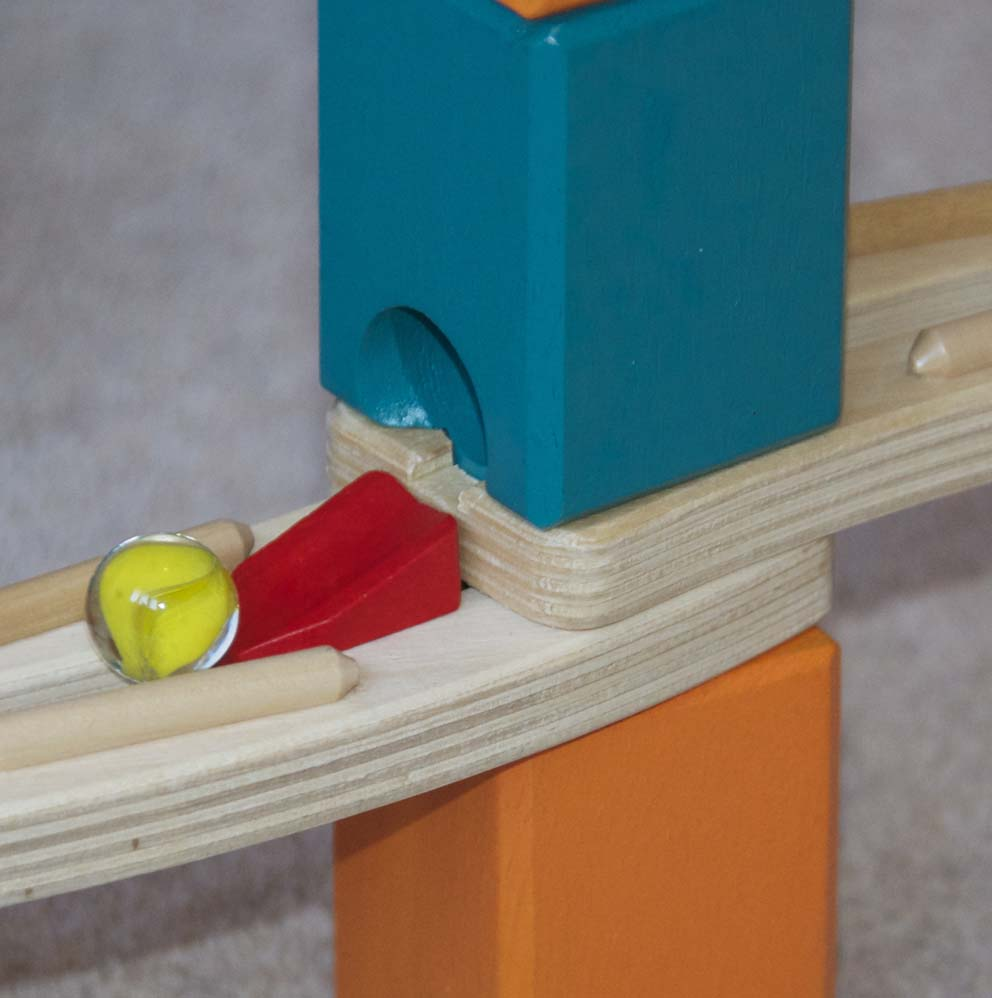 Quadrilla Marble Run Review Wooden Toys Blog