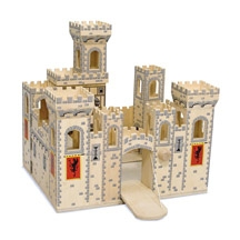 Melissa and Doug Folding Medieval Castle