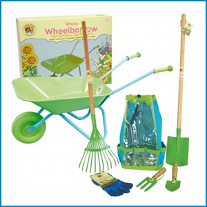 Children's Wheelbarrow Set