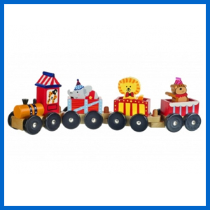 Circus Train Wooden Puzzle