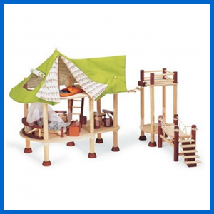 Jungle Lodge Wooden Toy