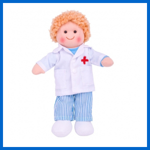 Doctor Tommy Play Doll