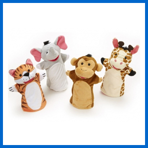 Zoo Hand Puppet Set