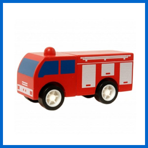 Click Clack Fire Engine