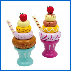Ice-cream pretend play set