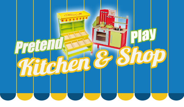 Pretend Play Kitchen & Shop