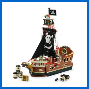 Buccaneer Pirate Ship Set