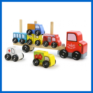 Stacking Truck Play Set