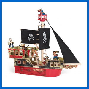 Blackbeard Pirate Ship