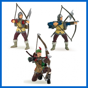 Set of 3 Archers