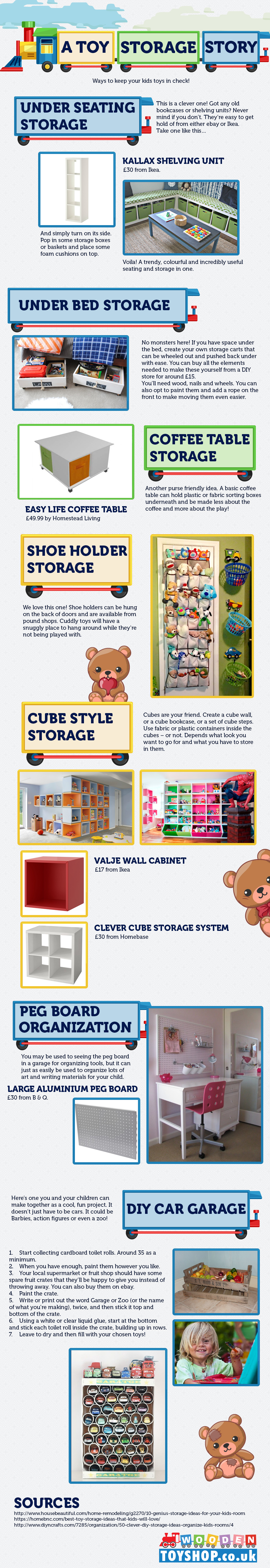 Storage Ideas for Toys