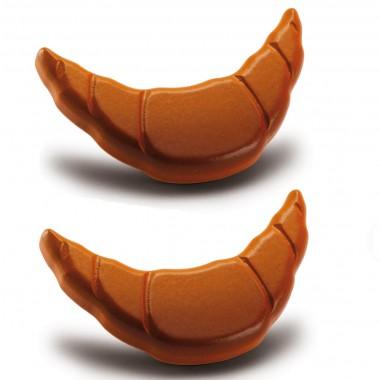 2 x Wooden Croissants