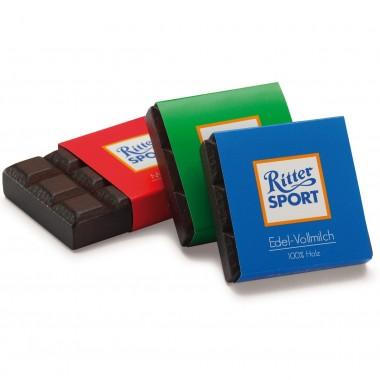 3 x Wooden Mini Chocolate Bar Mix