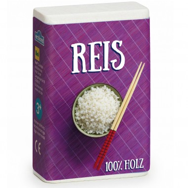 Wooden Box of Rice