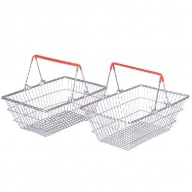 Bigjigs Metal Shopping Baskets