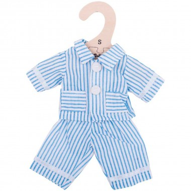 Blue Pyjamas (for 28cm Doll)