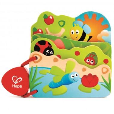Baby's Wooden Bug Book