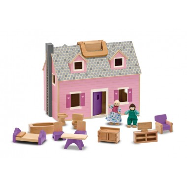 Melissa and Doug Fold & Go Dolls House