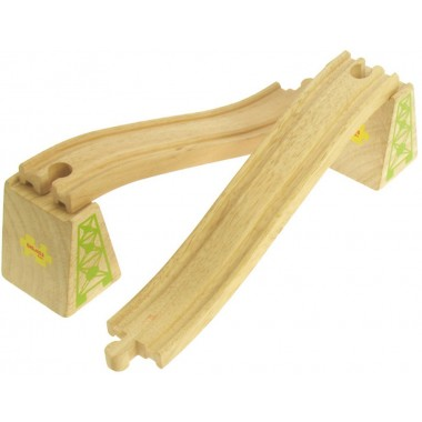 Wooden Train Track - Ascender and Descender Track