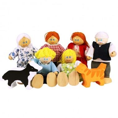 BigJigs Doll Family