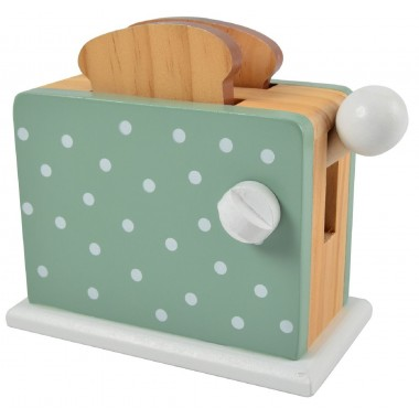Spotty Green Toaster