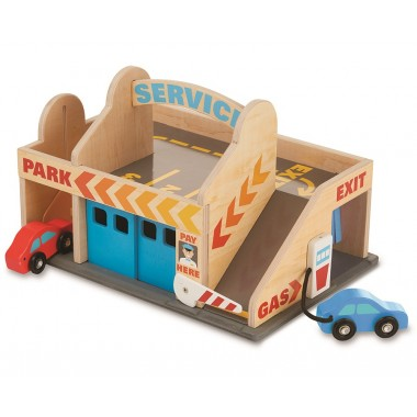 Melissa and Doug Service Station Garage