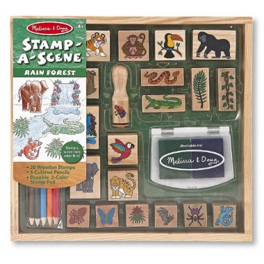 Stamp-A-Scene Rain Forest Set