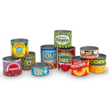 Tinned Food Play Set
