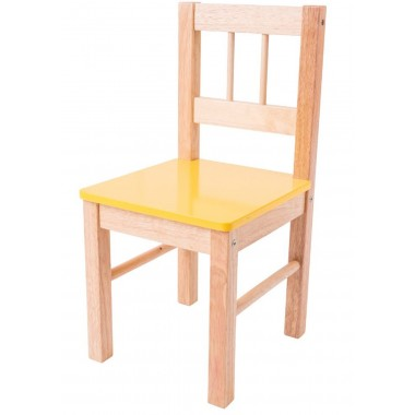 Yellow Wooden Chair
