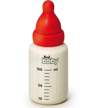 1 x Wooden Baby Bottle