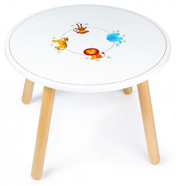 John Crane Tidlo Safari Animal Table