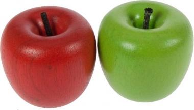 2 x Wooden Apples