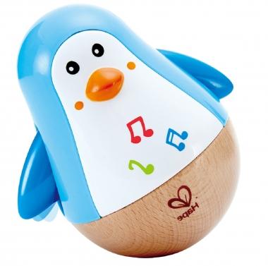 Wooden Penguin Music Wobbler