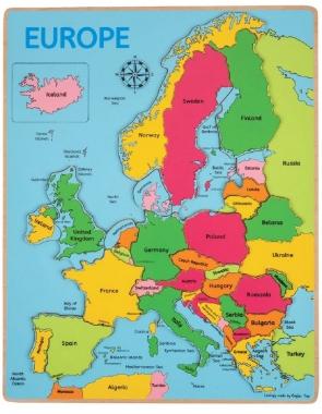 Europe Inset Puzzle