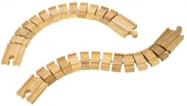 Wooden Train Track - Crazy Track