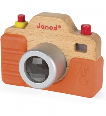 Wooden Camera with Sounds