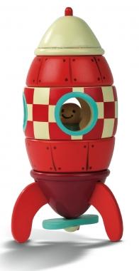 Janod Magnetic Rocket Puzzle