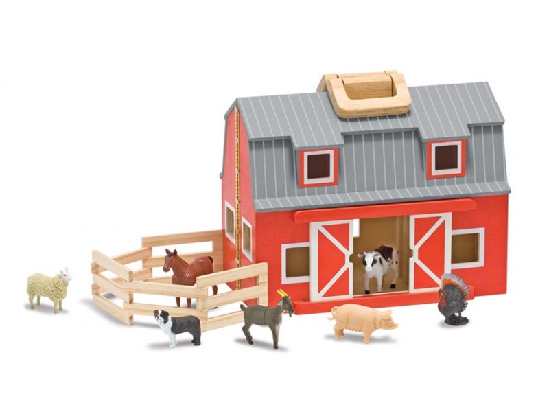 Melissa and Doug Fold & Go Barn