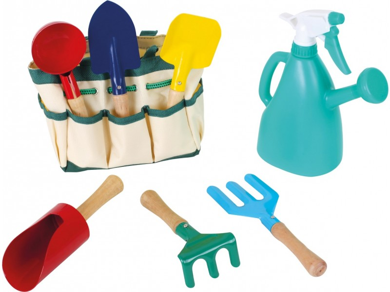 Children's 8 Piece Garden Tool Bag Set