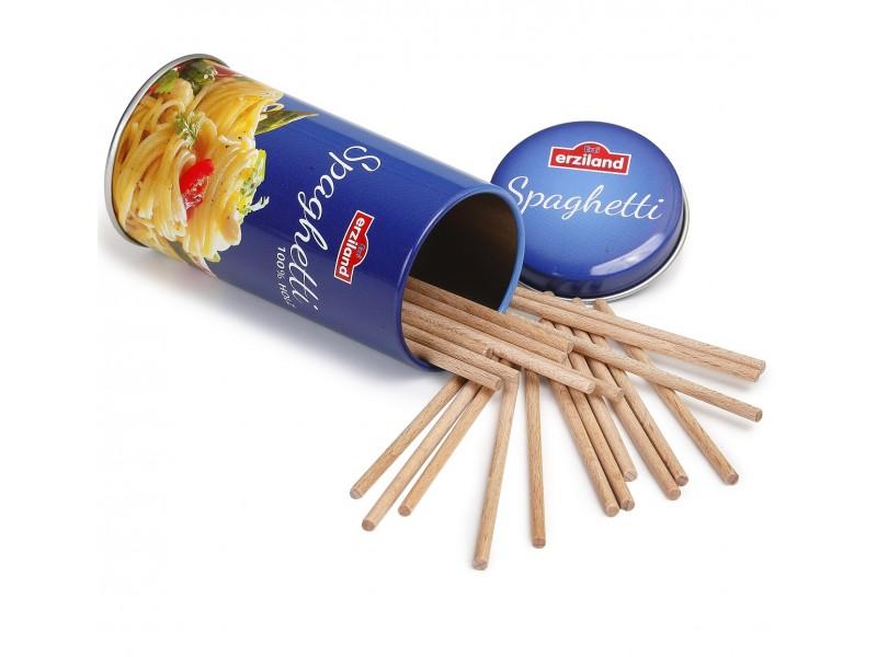 Tin of Wooden Spaghetti