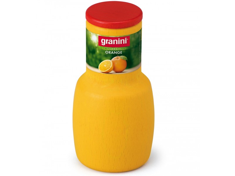 1 x Wooden Bottle of Orange Juice