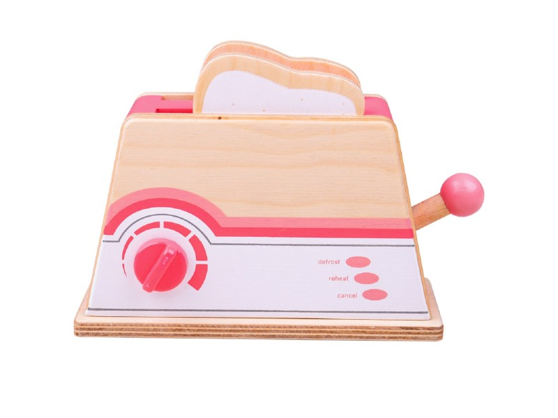 Pink Wooden Toaster