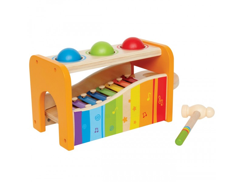 Musical Sound and Tap Bench