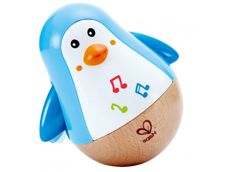 Wooden Penguin Music Wobbler