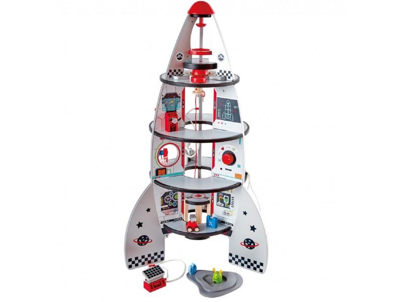 Four Stage Spaceship & Rocket