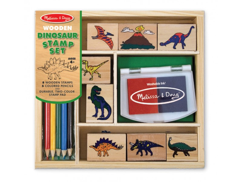 Melissa and Doug Dinosaur Stamp Set
