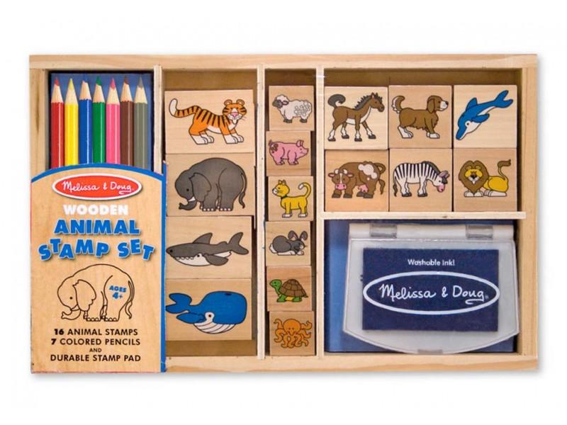 Melissa and Doug Animal Stamp Set