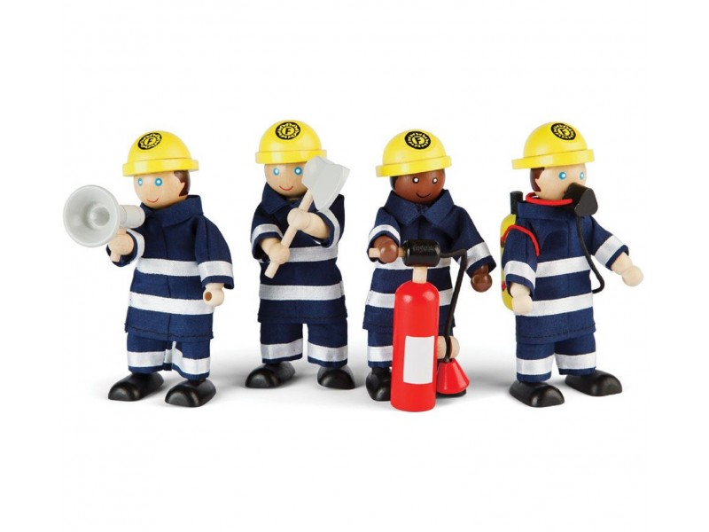 Wooden Fire Fighters and Accessories