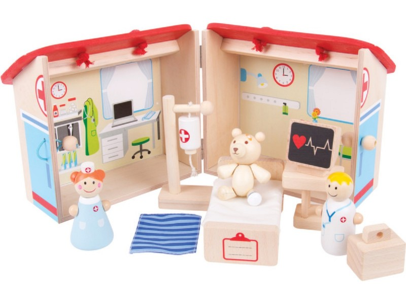 BigJigs Mini Hospital Playset